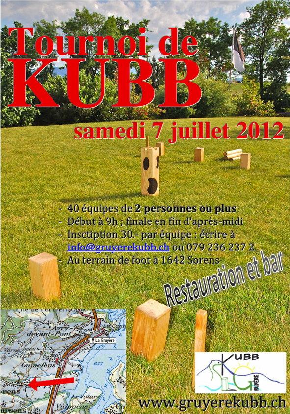 Tournoi GruyèreKubb 2012